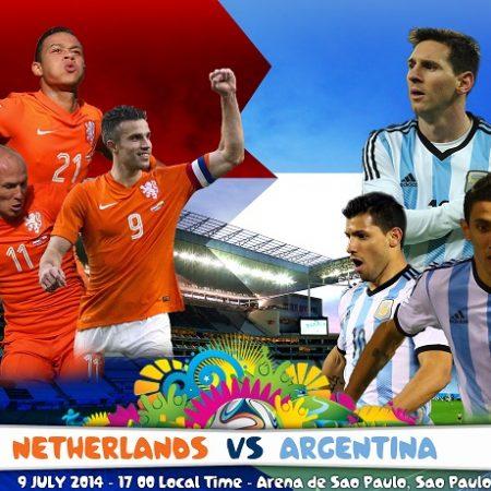 Холандия vs Аржентина